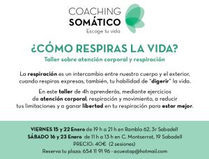 taller respiración coaching somatico